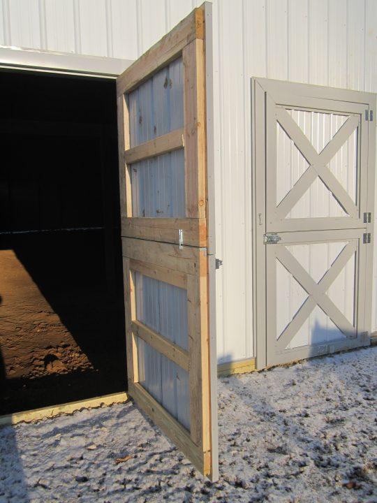 Permalink to Insulated Sliding Pole Barn Door