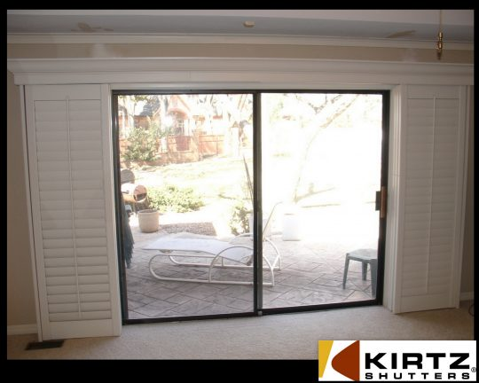 Permalink to Interior Plantation Shutters For Sliding Door