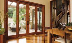 Large Wood Sliding Glass Doors