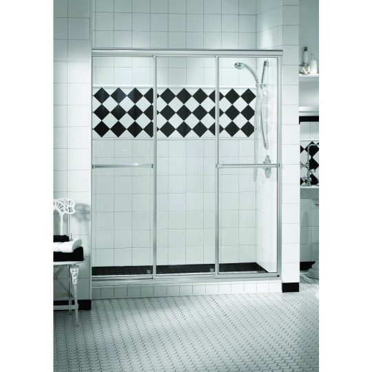 Permalink to Maax 3 Panel Sliding Shower Door