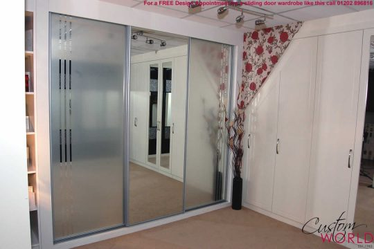 Permalink to Mirrored Sliding Door Wardrobe Kit