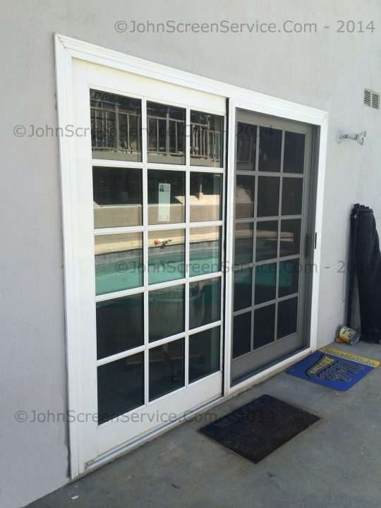 Permalink to Re Screen Sliding Glass Door