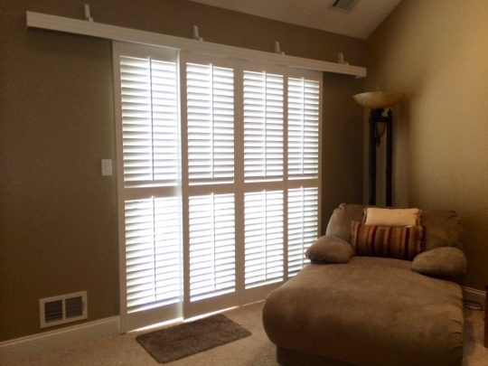 Permalink to Rolling Plantation Shutters For Sliding Glass Doors
