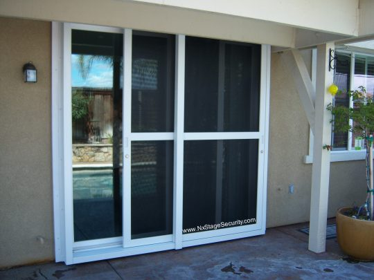 Permalink to Security Screen Door For Sliding Glass Doors