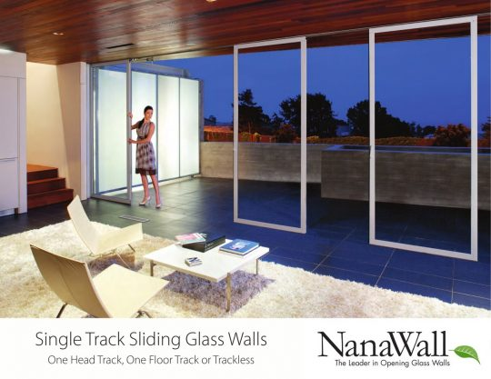 Permalink to Single Track Sliding Glass Doors