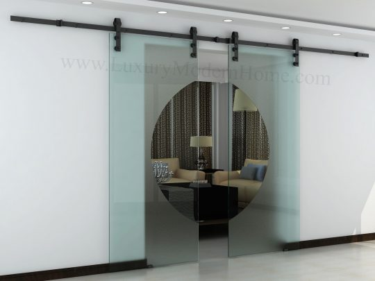 Permalink to Sliding Barn Doors With Glass