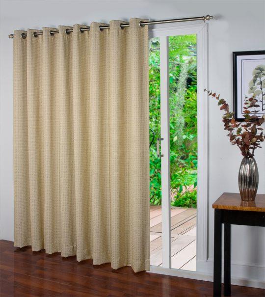 Patio Door Grommet Curtain Panel