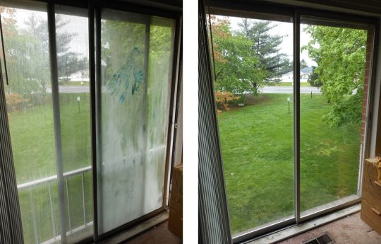 Permalink to Sliding Glass Door Seal Broken