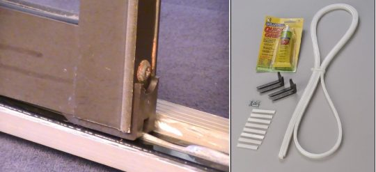 Permalink to Sliding Glass Door Weatherstripping Kit