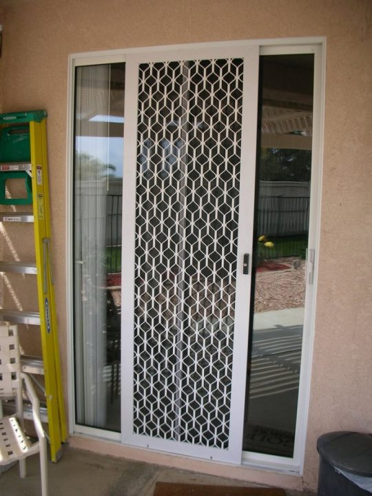 Permalink to Sliding Glass Screen Door Security