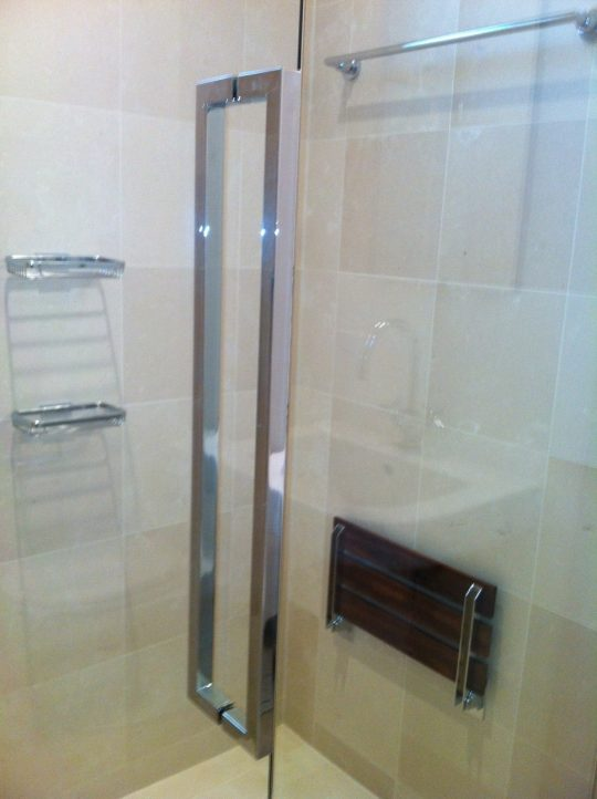 Permalink to Sliding Glass Shower Door Finger Pull