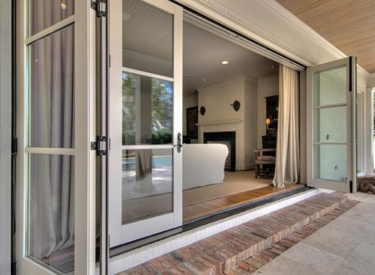 Permalink to Triple Panel Sliding Patio Doors