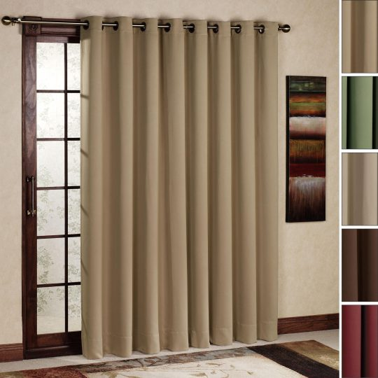 Permalink to Triple Sliding Glass Door Curtains