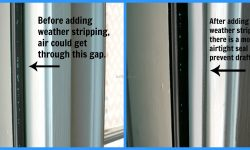 Weather Stripping Sliding Door Bottom