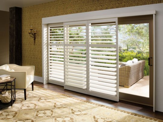 Permalink to Wooden Blinds For Sliding Doors