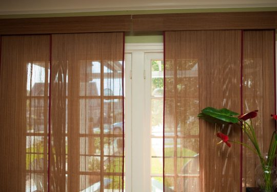 Permalink to Woven Wood Blinds For Sliding Glass Doors